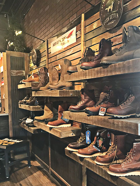 Wisconsin Boot Store Bear Shoe and Repair